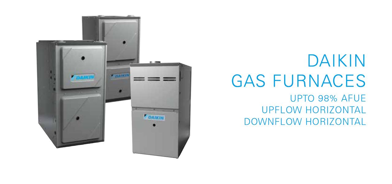 Daikin Gas Furnaces Signature